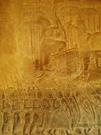 Asisbiz Angkor Wat Bas relief S Gallery W Wing Historic Procession 108