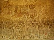 Asisbiz Angkor Wat Bas relief S Gallery W Wing Historic Procession 109