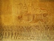 Asisbiz Angkor Wat Bas relief S Gallery W Wing Historic Procession 110