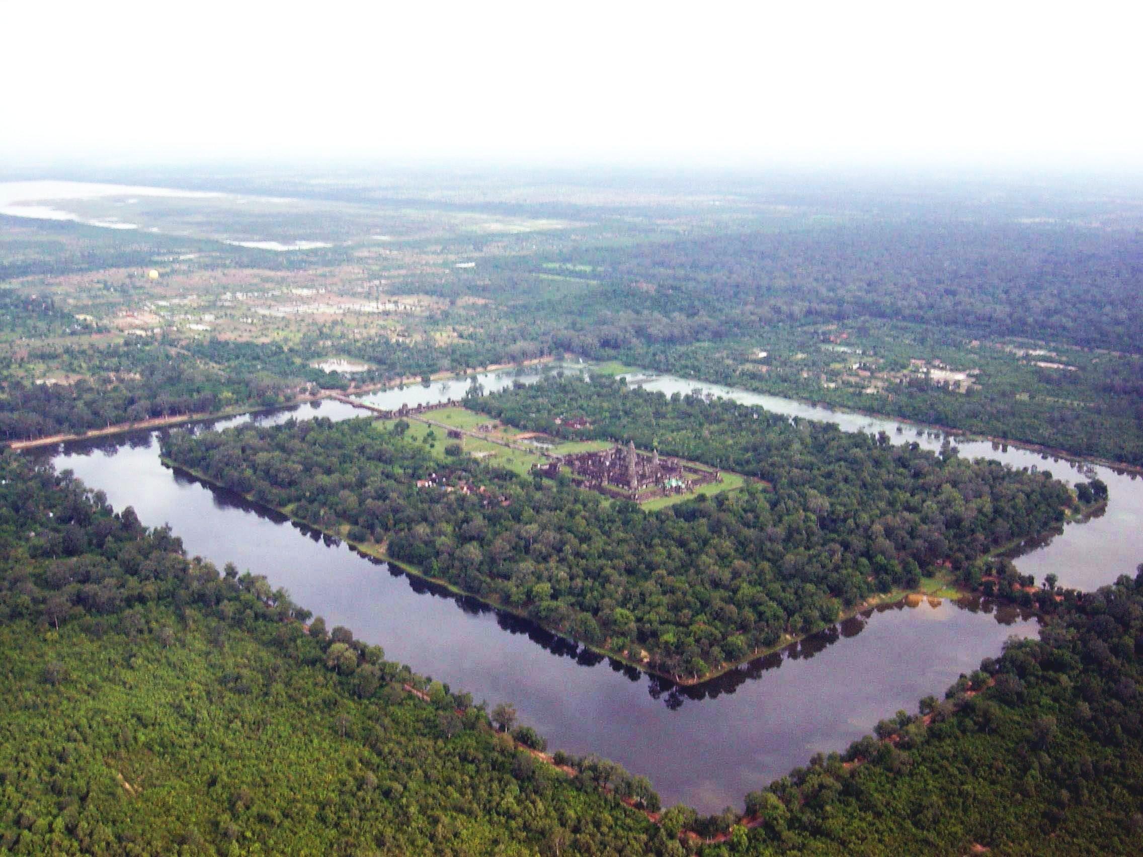 1 Angkor Wat from the air
