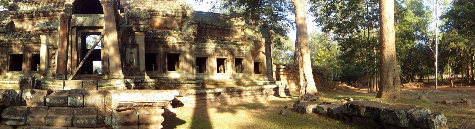 Angkor Wat approaches outer eastern Gopura Angkor Siem Reap 08