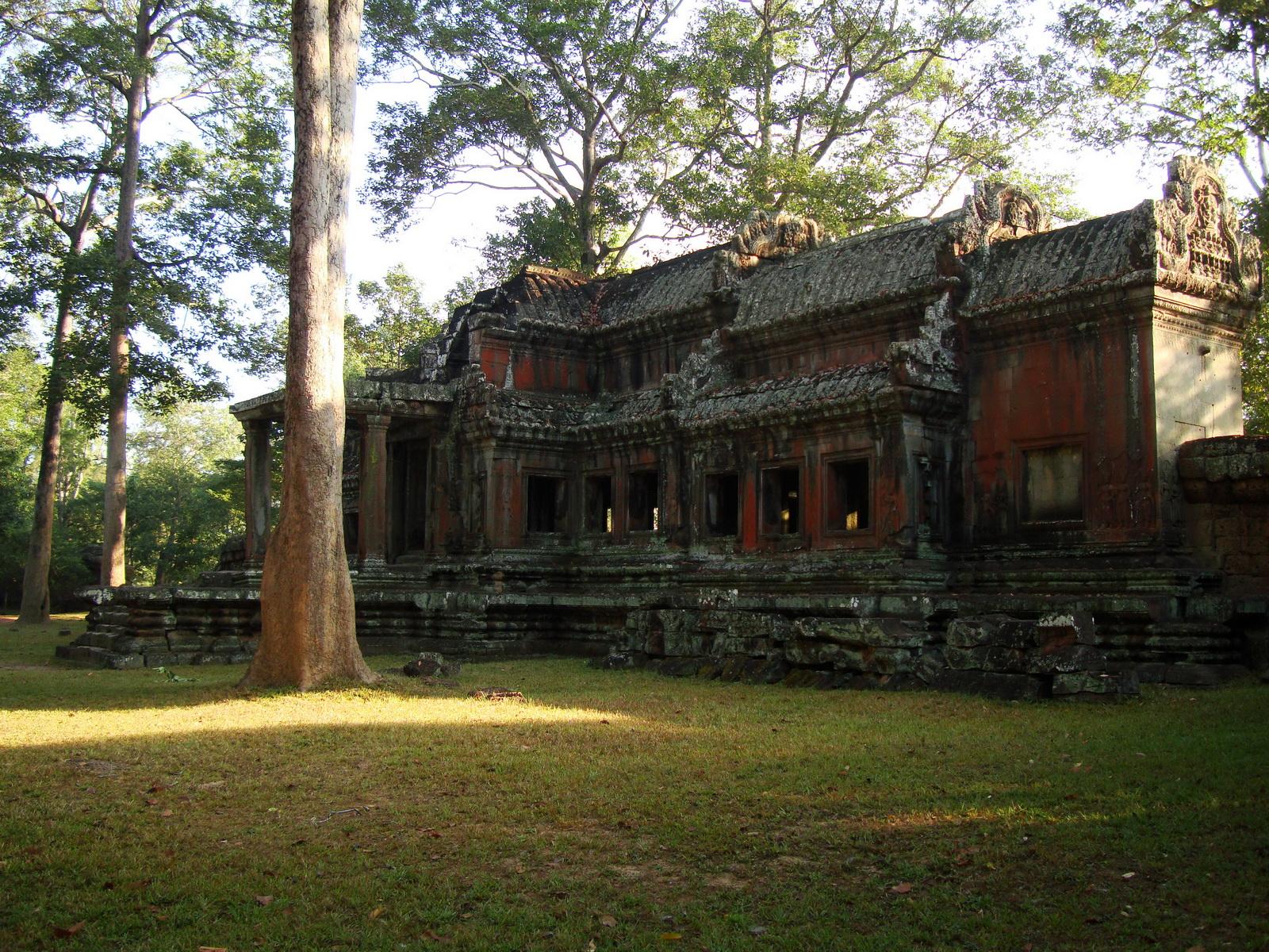 Angkor Wat approaches outer eastern Gopura Angkor Siem Reap 11