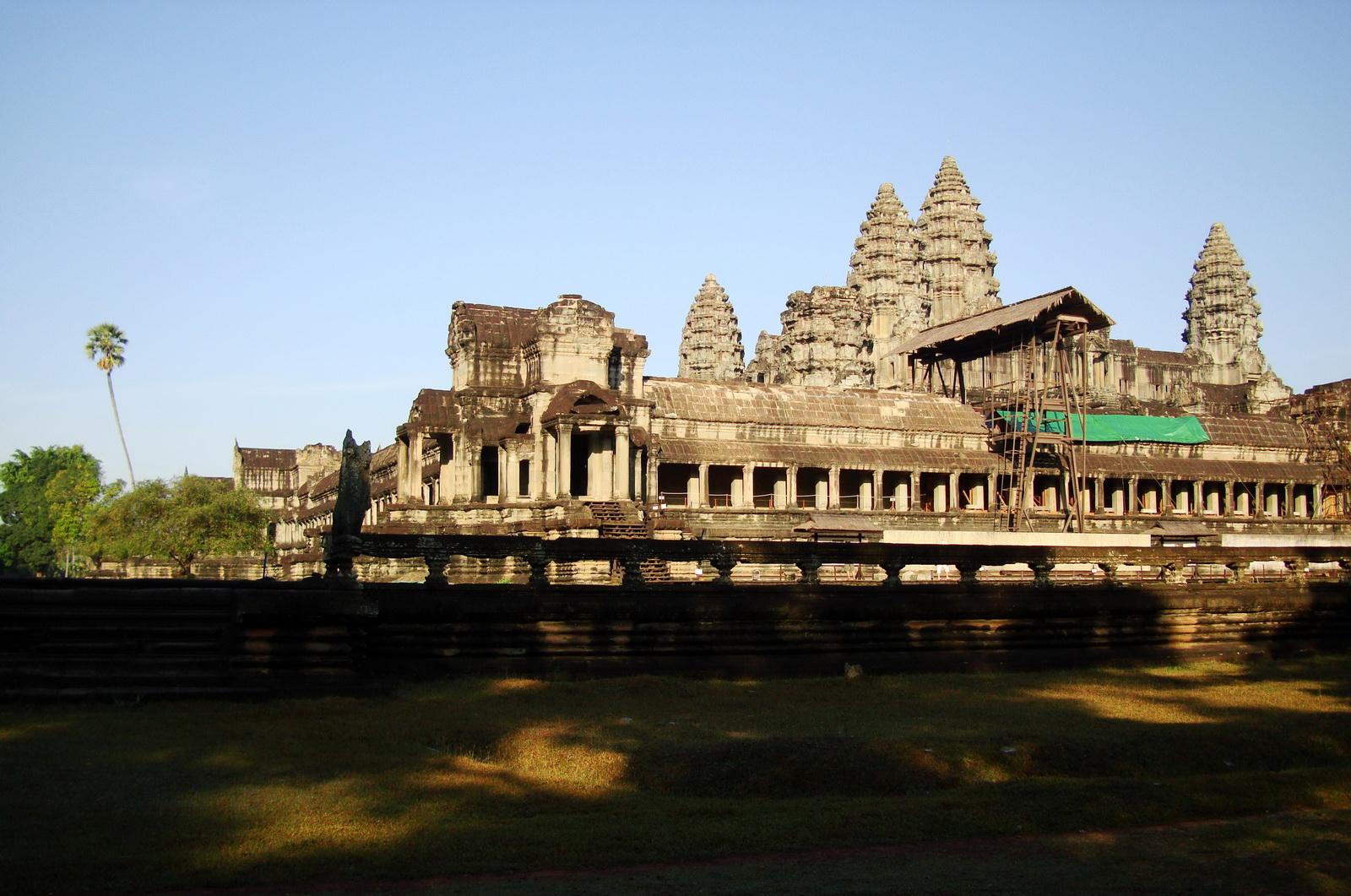 Angkor Wat panoramic view SE side Angkor Siem Reap 01