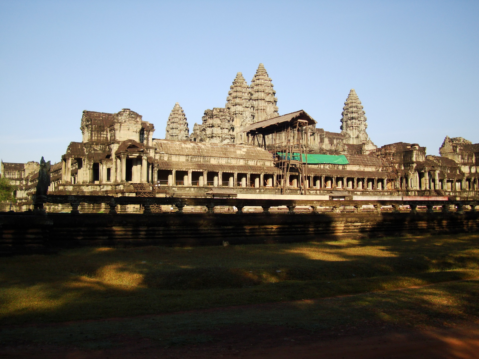 Angkor Wat panoramic view SE side Angkor Siem Reap 02
