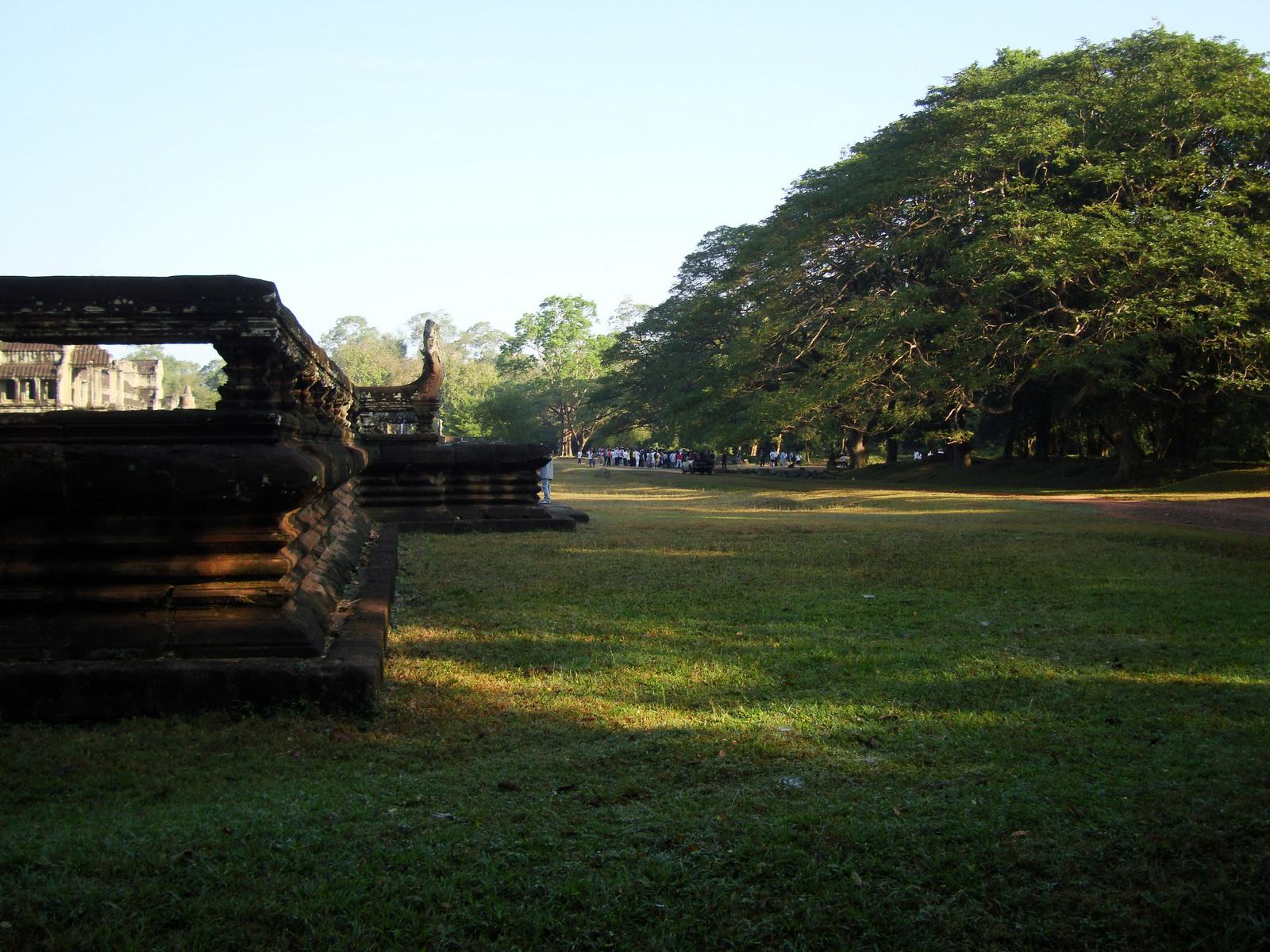 Angkor Wat panoramic view SE side Angkor Siem Reap 03