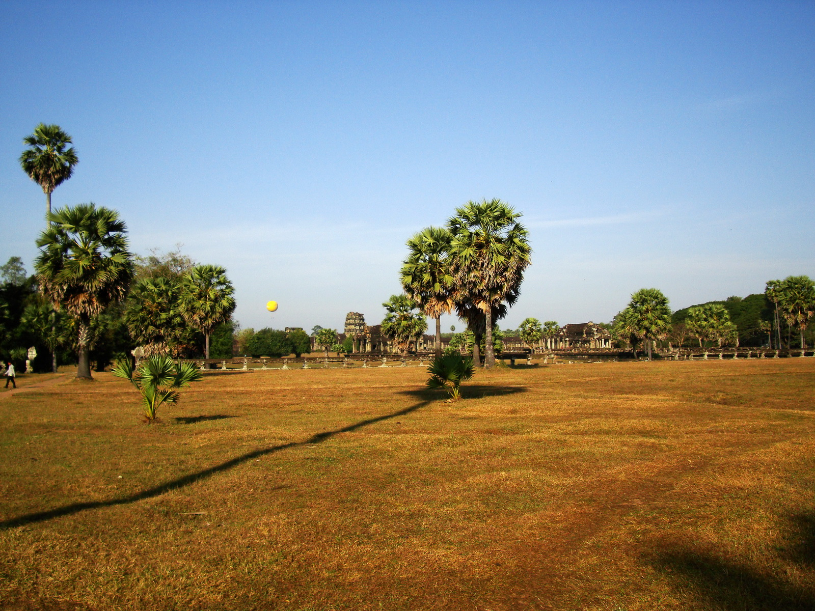 Angkor Wat panoramic view SW corner looking west Angkor Siem Reap 04