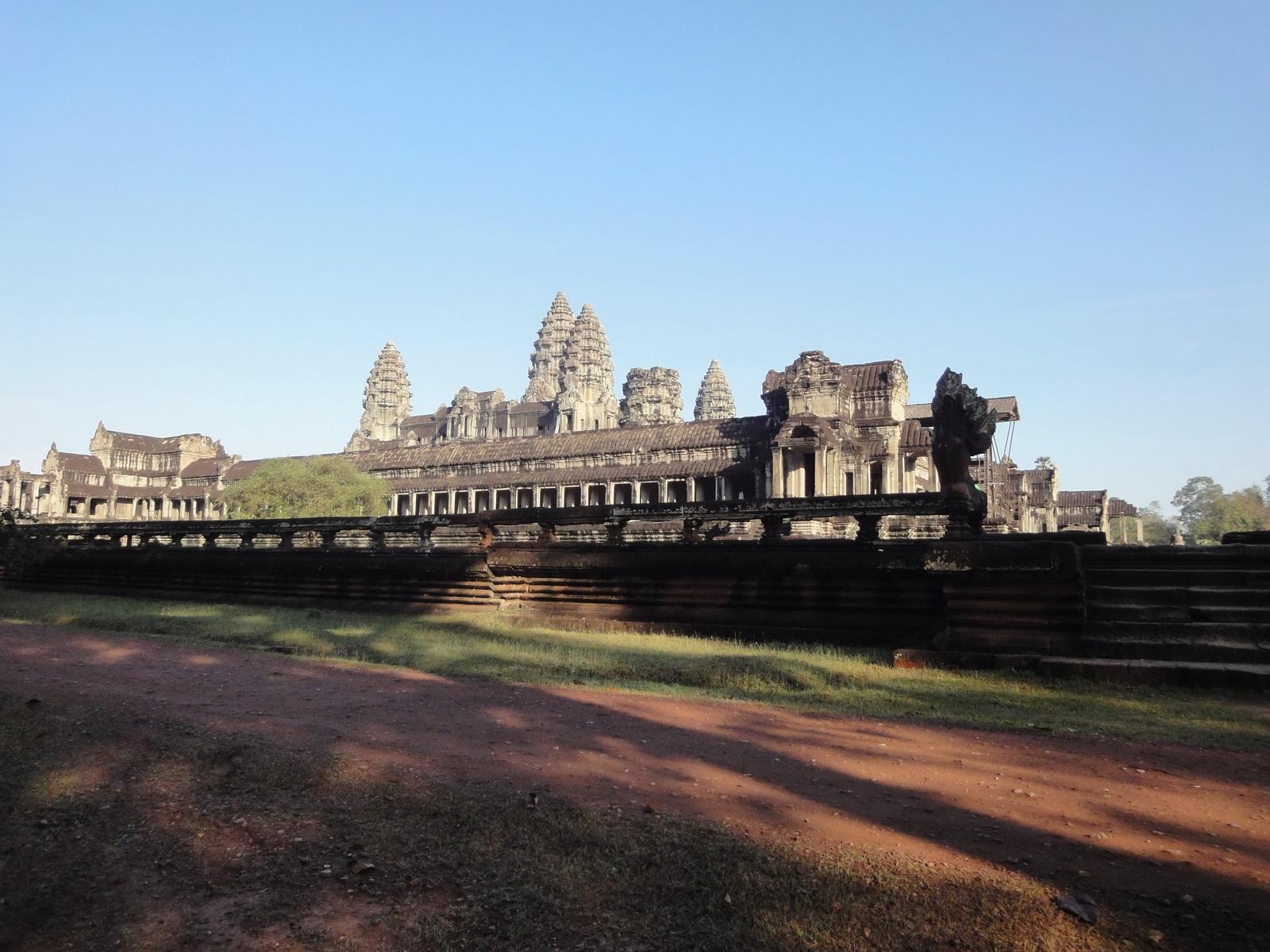 Angkor Wat panoramic view southern side Angkor Siem Reap 02