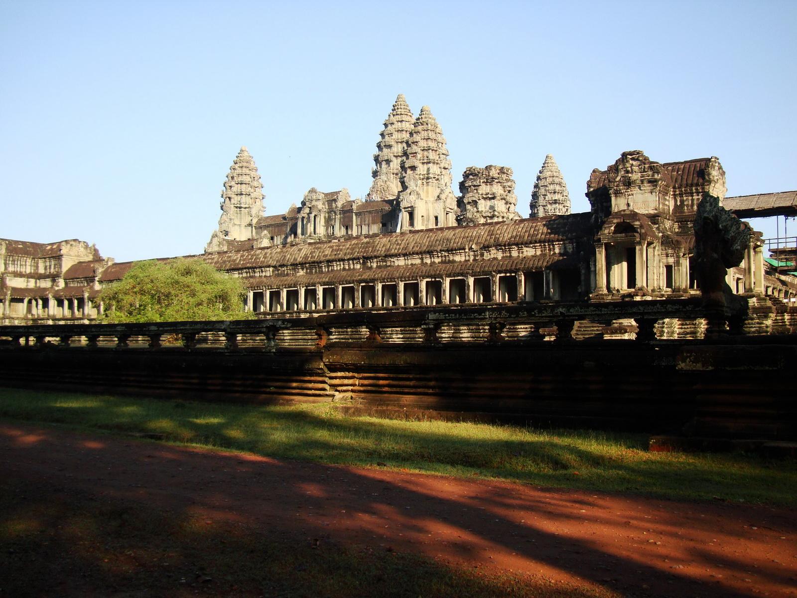 Angkor Wat panoramic view southern side Angkor Siem Reap 03