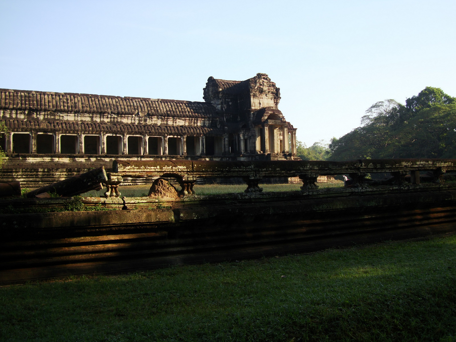Angkor Wat panoramic view southern side Angkor Siem Reap 05