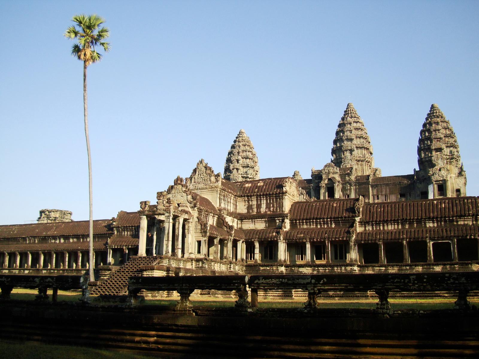 Angkor Wat panoramic view southern side Angkor Siem Reap 06
