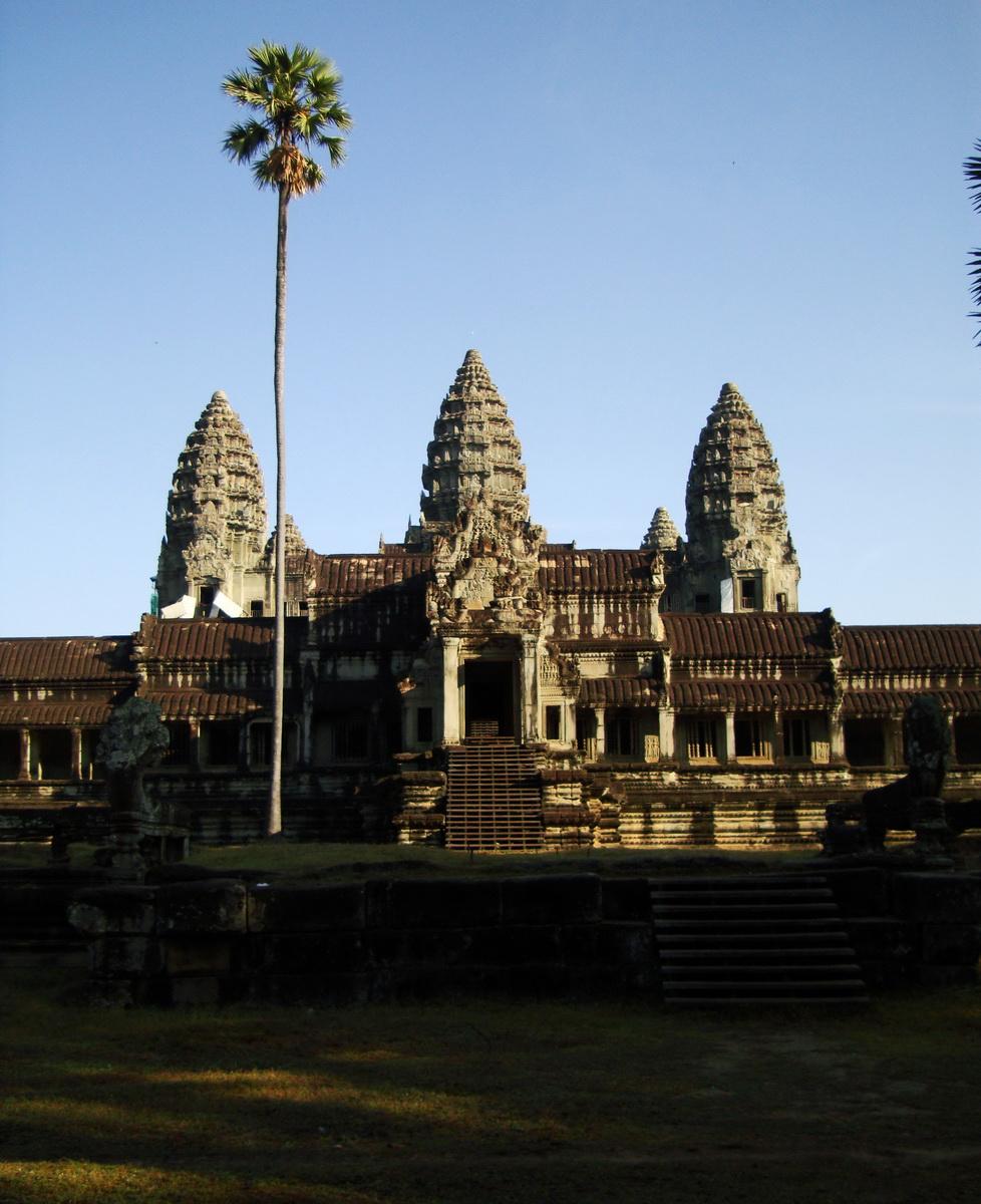Angkor Wat panoramic view southern side Angkor Siem Reap 08