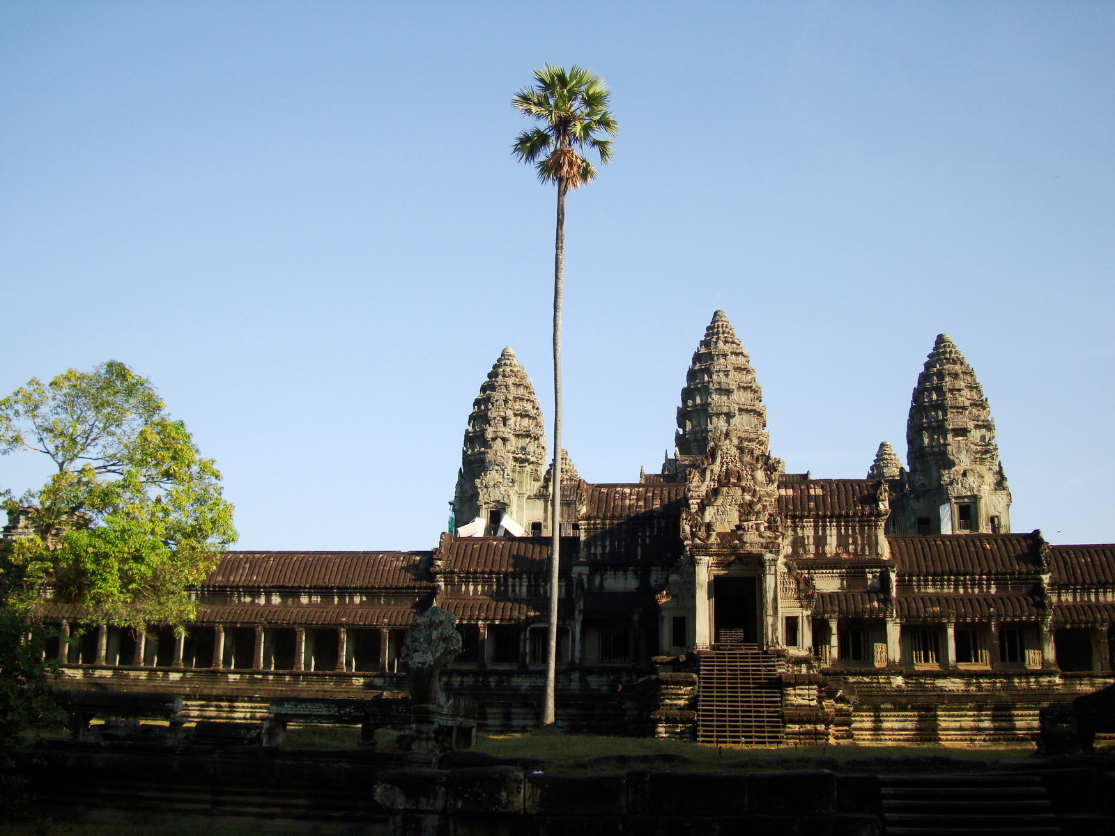 Angkor Wat panoramic view southern side Angkor Siem Reap 09
