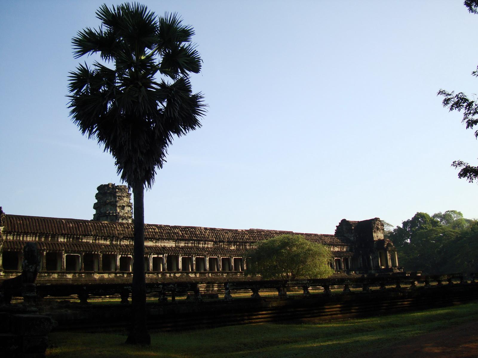 Angkor Wat panoramic view southern side Angkor Siem Reap 11