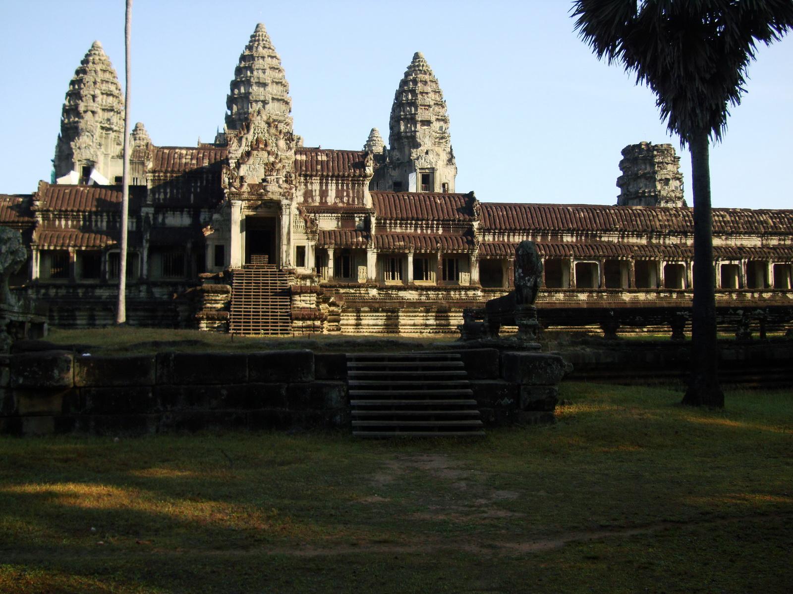 Angkor Wat panoramic view southern side Angkor Siem Reap 12
