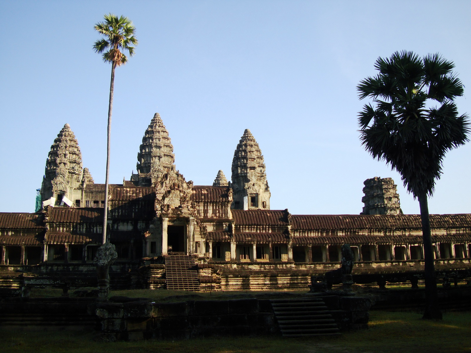 Angkor Wat panoramic view southern side Angkor Siem Reap 13