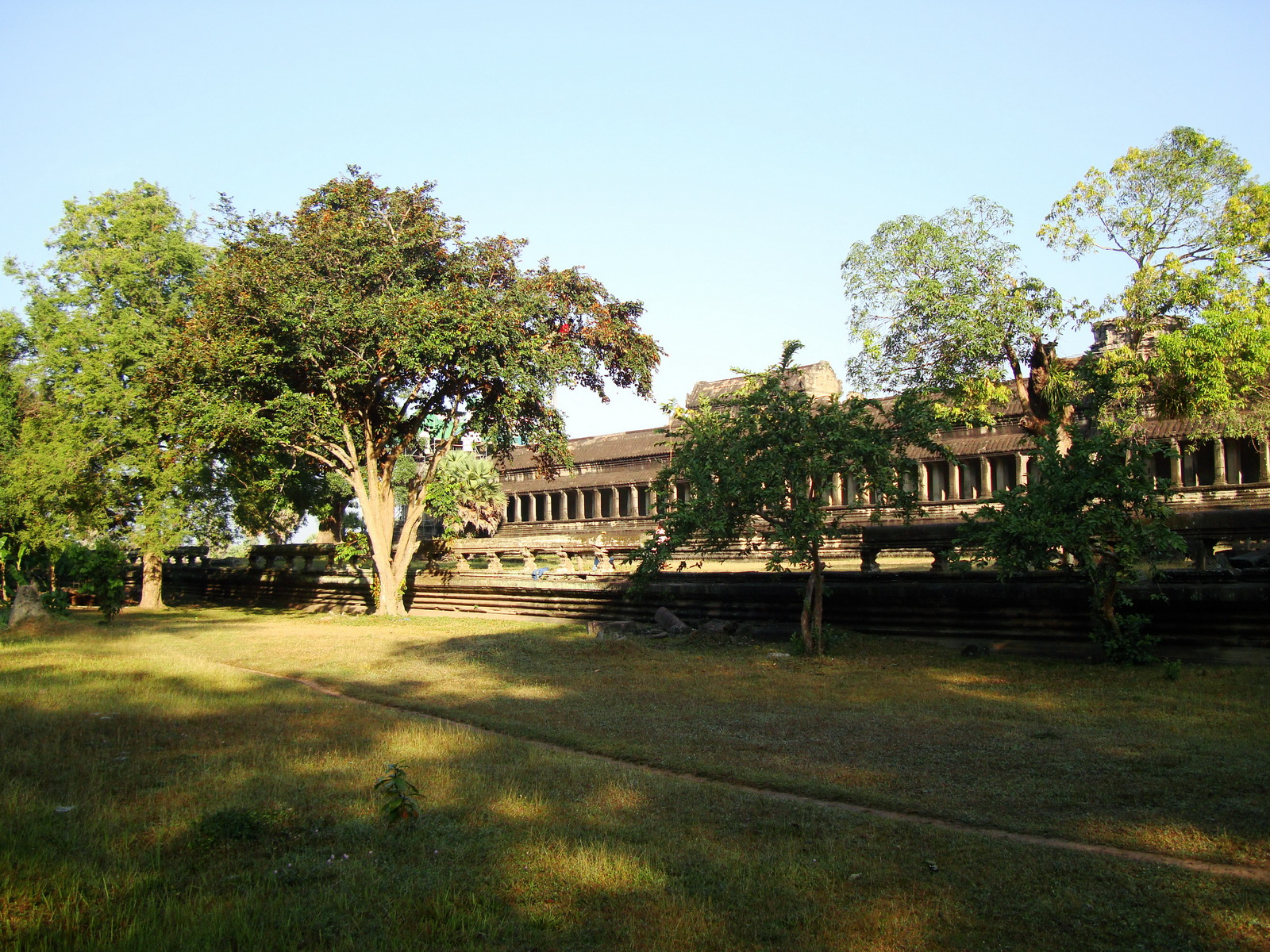 Angkor Wat panoramic view southern side Angkor Siem Reap 14