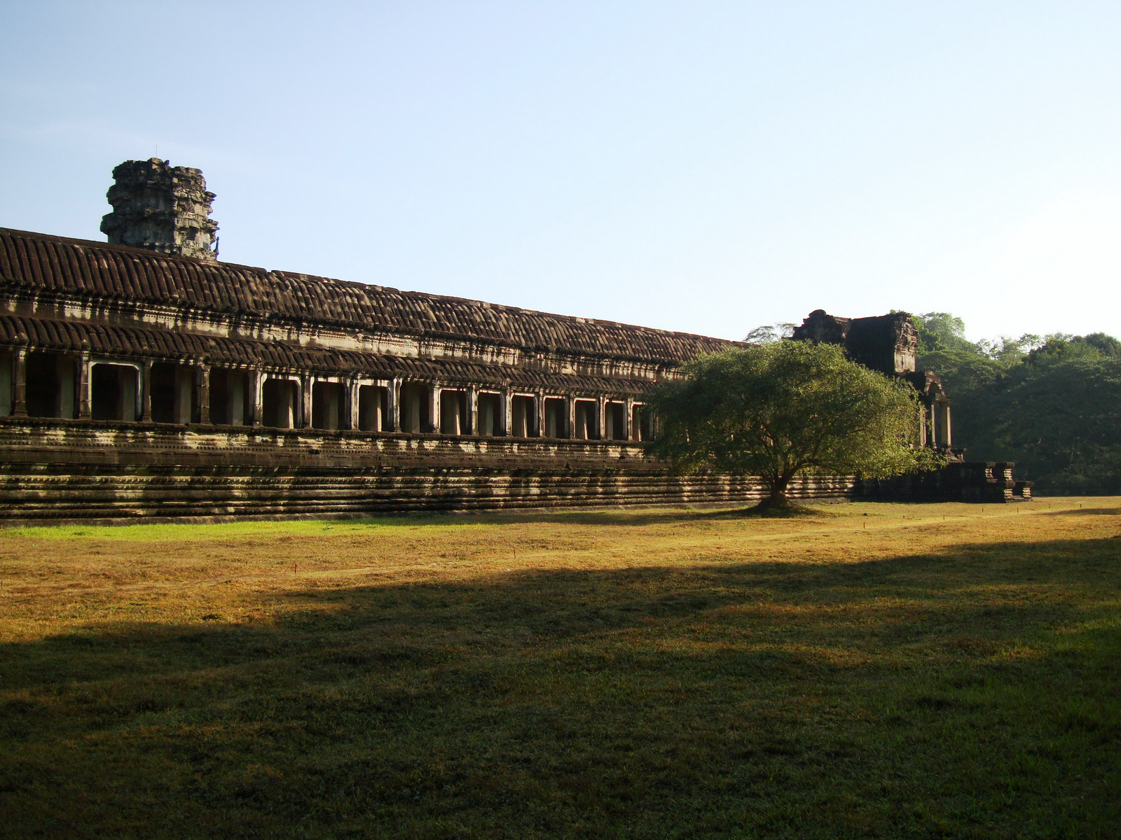 Angkor Wat panoramic view southern side Angkor Siem Reap 15