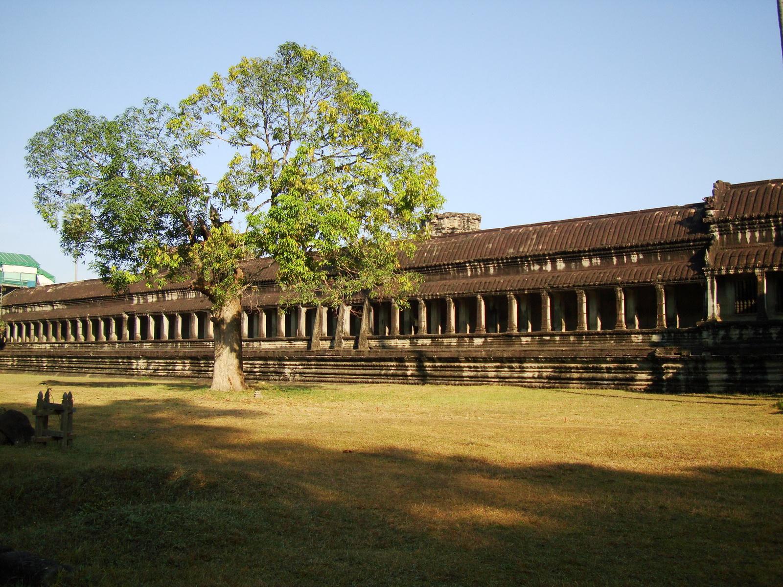 Angkor Wat panoramic view southern side Angkor Siem Reap 16