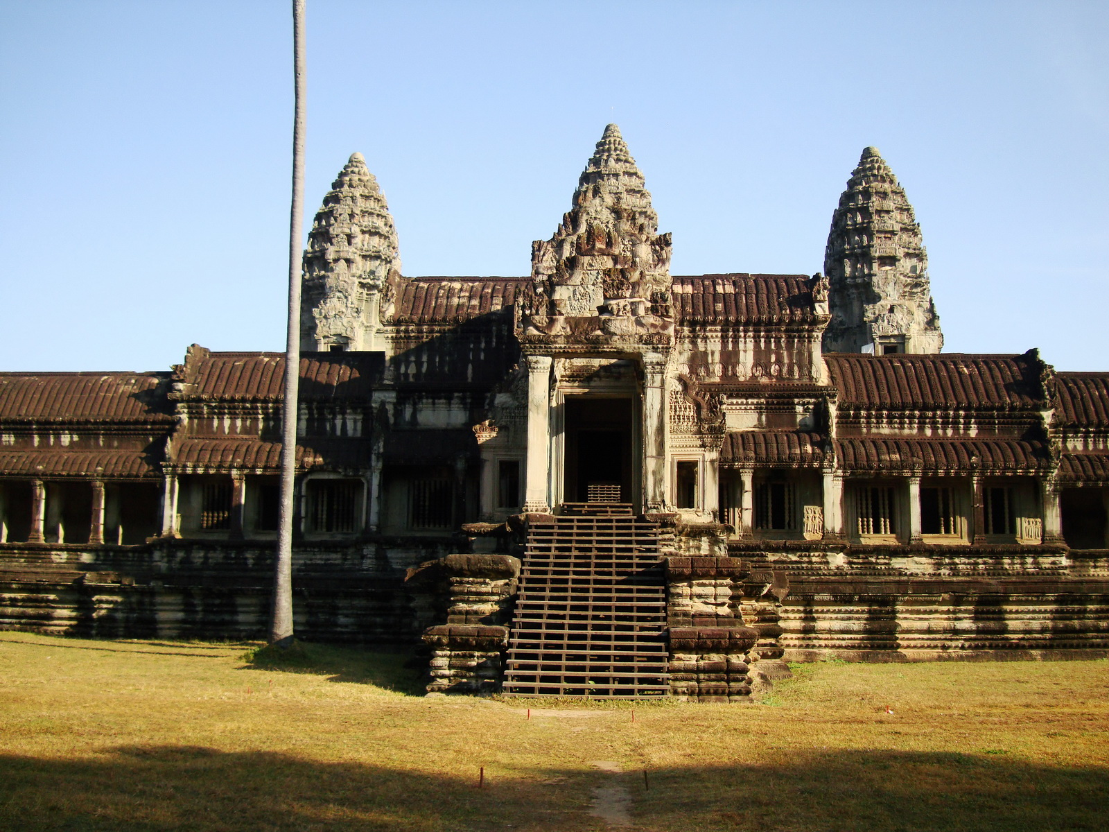 Angkor Wat panoramic view southern side Angkor Siem Reap 17