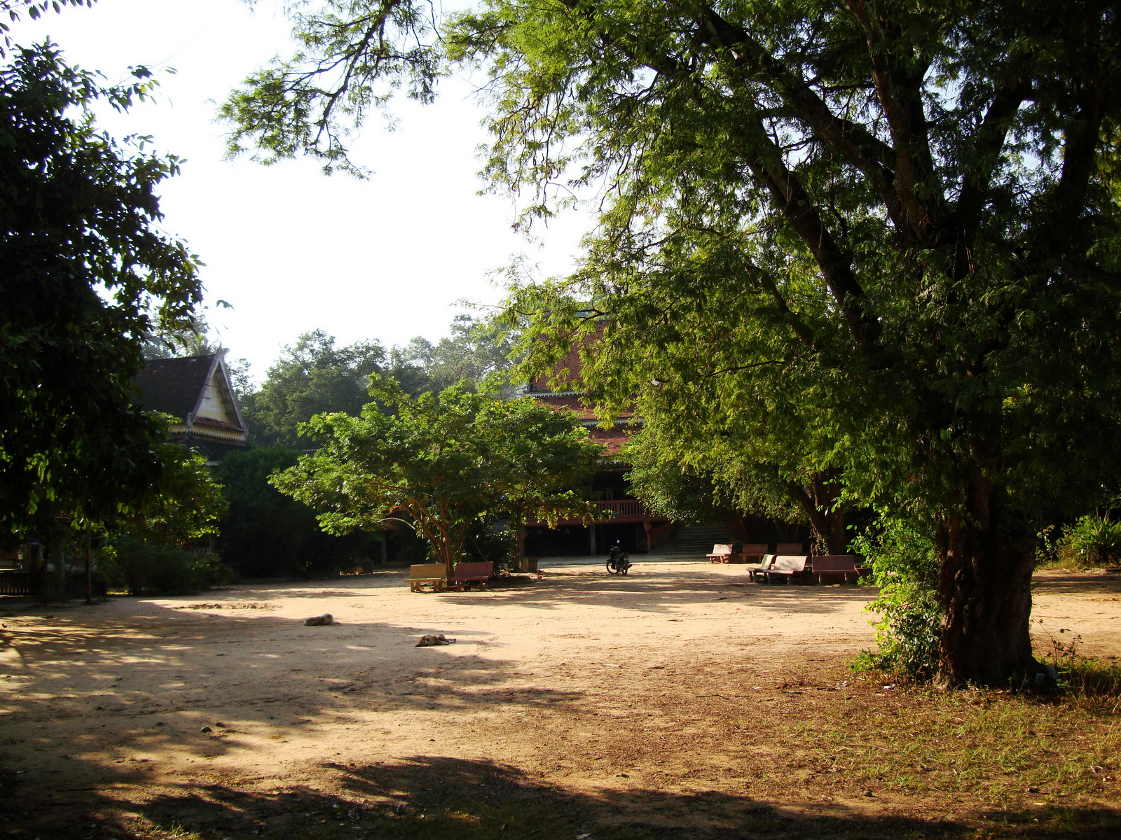 Buddhist monastery area Angkor Wat Seim Reap 07