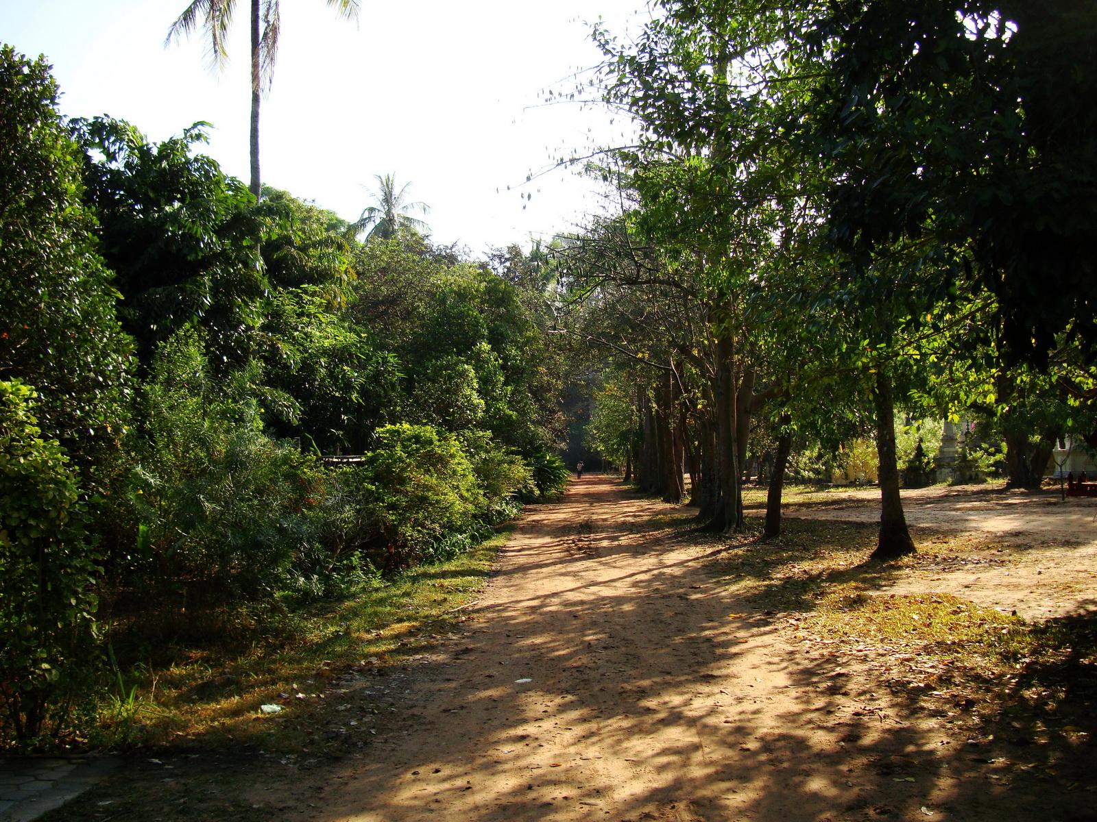 Buddhist monastery area Angkor Wat Seim Reap 08