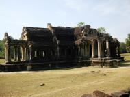 Asisbiz Angkor Wat Khmer architecture external library NW corner 01