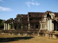 Asisbiz Angkor Wat Khmer architecture external library SW corner 04
