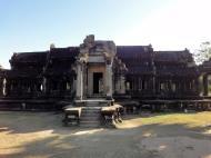 Asisbiz Angkor Wat Khmer architecture external library SW corner 05