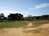 Asisbiz Angkor Wat Khmer architecture external library SW corner 10