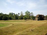 Asisbiz Angkor Wat Khmer architecture external library SW corner 13