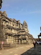 Asisbiz Angkor Wat Khmer architecture inner sanctuary E entrance 07
