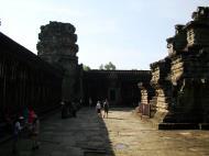 Asisbiz Angkor Wat Khmer architecture inner sanctuary towers 03