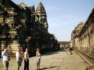 Asisbiz Angkor Wat Khmer architecture inner sanctuary towers 10