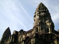 Asisbiz Angkor Wat Khmer architecture inner sanctuary towers 11