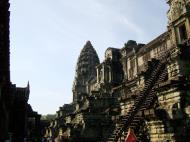 Asisbiz Angkor Wat Khmer architecture inner sanctuary towers 12