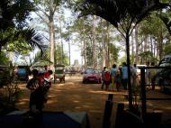 Asisbiz Angkor Wat Western carpark and restaurant area 01
