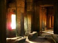 Asisbiz Angkor Wat approaches outer E Gopura passageway Siem Reap 02