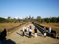Asisbiz Angkor Wat approaches western moat bridge Angkor Siem Reap 01