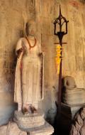 Asisbiz Angkor Wat inner sanctuary gallery Buddha relics 03