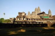 Asisbiz Angkor Wat panoramic view SE side Angkor Siem Reap 01