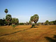 Asisbiz Angkor Wat panoramic view SW corner looking west Angkor Siem Reap 02