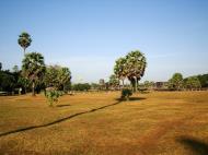 Asisbiz Angkor Wat panoramic view SW corner looking west Angkor Siem Reap 03
