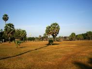 Asisbiz Angkor Wat panoramic view SW corner looking west Angkor Siem Reap 04