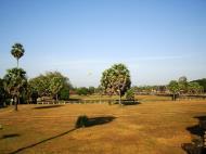 Asisbiz Angkor Wat panoramic view SW corner looking west Angkor Siem Reap 05