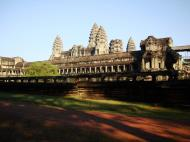 Asisbiz Angkor Wat panoramic view southern side Angkor Siem Reap 03