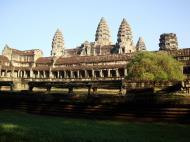 Asisbiz Angkor Wat panoramic view southern side Angkor Siem Reap 04