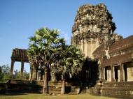 Asisbiz Angkor Wat panoramic views Western Gopura outside 01