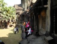 Asisbiz Angkor Wat panoramic views Western Gopura outside 03