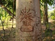 Asisbiz Buddhist monastery area Angkor Wat Seim Reap 02