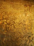 Asisbiz Angkor Wat Bas relief W Gallery N Wing Battle of Lanka 11